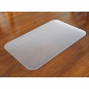 Floortex Anit microbial Desk Pad 20 x36 Clear Hmtm5191ev