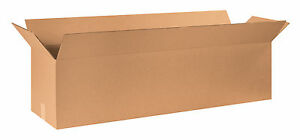 Box Partners Long Corrugated Boxes 48 X 12 X 12 Kraft 10 bundle 481212
