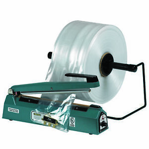 Box Partners Poly Tubing 3 Mil 12 X 1450 Clear 1 roll Pt1203
