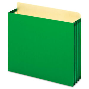 Cardinal File Cabinet Pockets Straight Cut 1 Pocket Letter Green Fc1524pgre