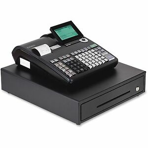 Casio Inc Thermal Print Cash Register 15 x17 x8 3 5 Black Pcrt2300