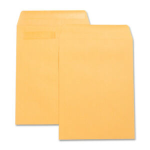 Myofficeinnovations Press seal Catalog Envelopes Plain 10 x13 100 bx Kraft