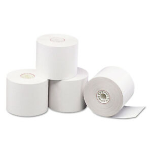Pm Company Direct Thermal Printing Thermal Paper Rolls 2 5 16 X 209 Ft White 24