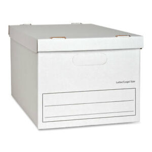 Myofficeinnovations Storage File Boxes Ltr legal 350 Lb 12 x15 x10 12 ct We