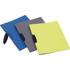 Oxford Report Cover Swing Clip Letter size 25 bx Assorted 78500
