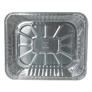 Durable Packaging Aluminum Steam Table Pans 12 3 4w X 10 3 8d X 2 9 16h