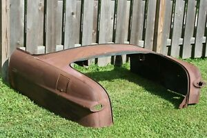 1949 1951 Ford Convertible Rear Body Section