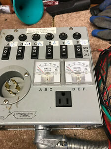 Connecticut 6 Circuit Generator Manual Transfer Switch Kit