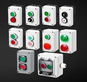 Button Switch Control Box Waterproof Button Indicator Light Plastic Case