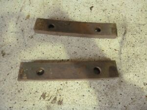 Minneapolis Moline Exhaust Manifold Clamps For M670 Super M5 602 5 Star Etc