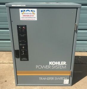 Kohler Power System Automatic Transfer Switch Gts 168341 0100 100 Amps 208v 3ph