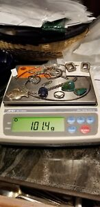 Lot Of Sterling Silver Jewelry Some Scrap Some Not Over 100 Total Grams 12
