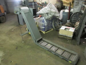 Universal Parts Or Chip Conveyor 43 Exit Height 10 W