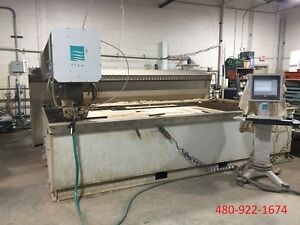 2008 Flow Mach 3b 4020 Dynamic Head Waterjet Cutting Ref 7796398