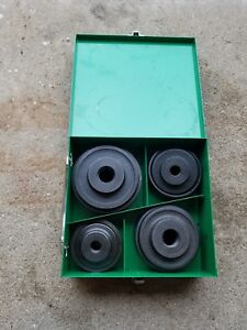 Greenlee 2 1 2 4 Conduit Knockout Punch Set