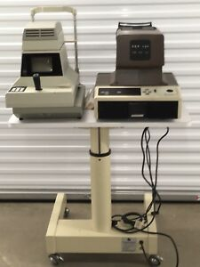 Reichert Xpert Non Contact Tonometer And Humphrey Automatic Refractor And Table