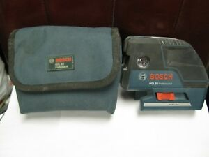 Bosch Gcl Professional 25 Five point Self leveling Alignment Laser Ships Free