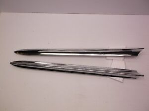 1958 58 Buick 29 Crown Molding Pair