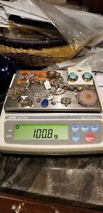 Lot Of Sterling Silver Jewelry Some Scrap Some Not Over 100 Total Grams 14