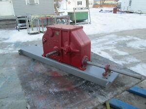 Clipper Brush Drive Gear Box For 9 Series Seed And Grain Cleaners