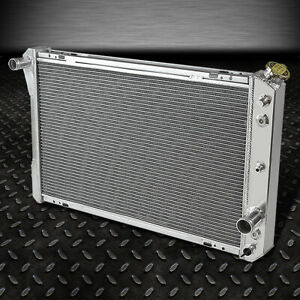 3 row Full Aluminum Racing Radiator For 82 92 Chevy Camaro pontiac Firebird Mt