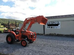 2016 Kubota L3301 Compact Tractor Loader 4x4 Diesel 3 Point Hitch Pto Warranty