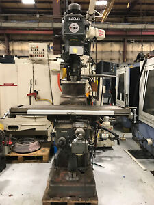 Lagun Ftv 3l Knee Mill Vertical Machining Center 55 X 10 Table 4200rpm Spindle