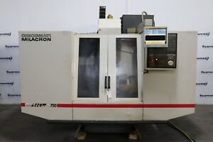 Cincinnati Milacron Arrow 750 Ere Cnc Vertical Machining Center W 4th Axis