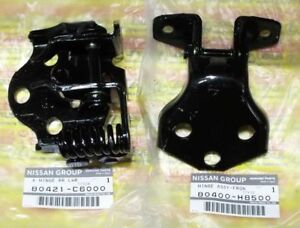 Genuine Nissan Patrol Safari Y60 Gq Safari Front Left Door Hinge Set