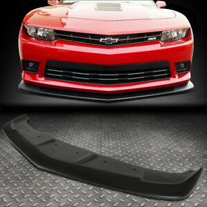For 2014 2015 Chevy Camaro A Style Abs Front Bumper Lip Spoiler Wing Body Kit