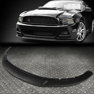 For 2013 2014 Ford Mustang Rp Style Front Bumper Lip Lower Spoiler Wing Body Kit