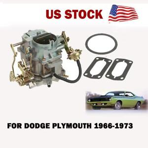 Carburetor Carb For Dodge Plymouth 1966 1973 With 273 318 Engine 400 Cfm Choke