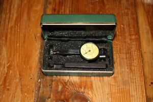 Federal Testmaster Dial Indicator Model 2 Set In Case