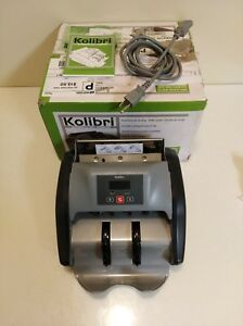 Kolibri Automatic Bill Money Counter Uv Counterfeit Detection 1000 Per Minute