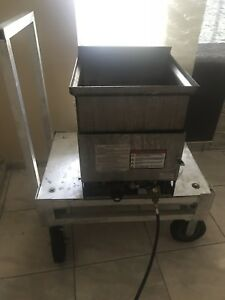 Funnel Cake Fryer Gold Medal 5094 With Low Boy Cart