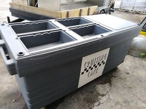 Cambro cruising Cafe Insulated Carrier Catering Food Service Transporter