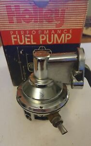 Holley 12 834 Chrome High Output Fuel Pump Chevy Sbc 327 350 Chevelle Impala