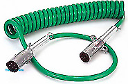 1 Pack Of Ten 10 15 Abs Electrical Coiled Cable With 12 48 Leads 30 4921