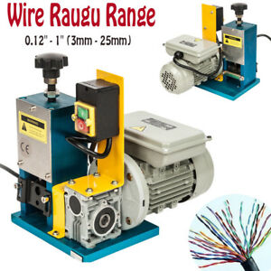 Durable Powered Electric Wire Stripping Machine Metal Tool Scrap Cable Stripper