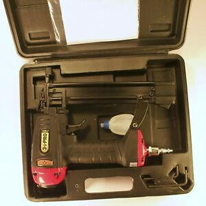 3 Pro F32p 18 gauge Brad Nailer 3 8 1 1 4 inch Long Black red