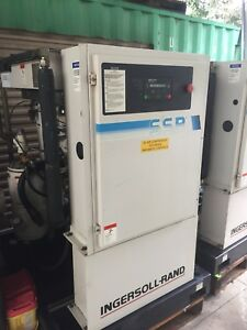 Ingersoll Rand Ssr ep40se 40hp Rotary Screw Air Compressor 125psi 153cfm 460 3ph