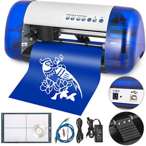 A4 Sign Vinyl Cutter Cutting Plotter Machine Sticker Design Contour Cut Function