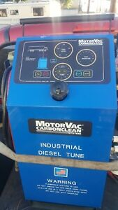 Motorvac Carbonclean System Industrial Diesel Tune Fm Approved Usa Made