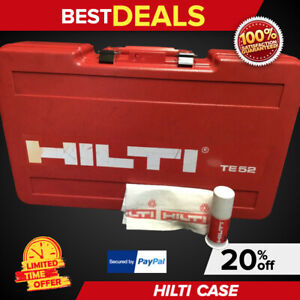 Hilti Te 52 case Only Preowned Free Grease Fast Ship