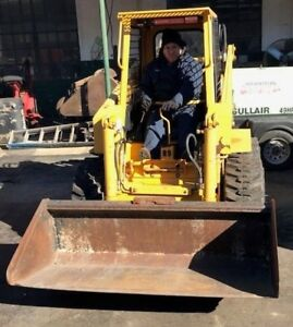 Skid Steer Loader Hydra Mac 1700 With Smooth Bucket Used Sold As Is