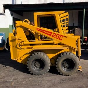 Hydra Mac 20c Skid Steer Loader Used Sold As Is