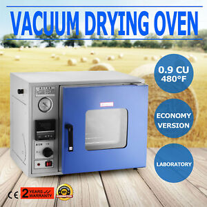 0 9 Cu Ft 480 f Lab Vacuum Air Convection Drying Oven Economy Stainless 250