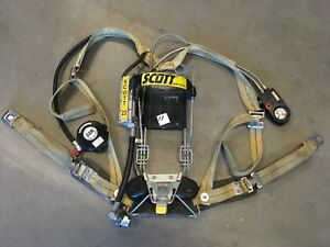 Scott 2 2 Scba Integrated Pass Air Pack Harness Firefighter Airpak Respirator 11