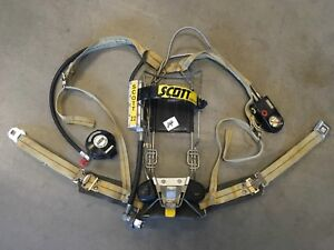Scott 2 2 Scba Integrated Pass Air Pack Harness Firefighter Airpak Respirator 14