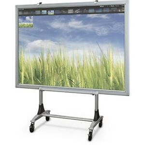 Balt Genius Mobile Dry Erase Whiteboard Stand Interactive Projector Whiteboard